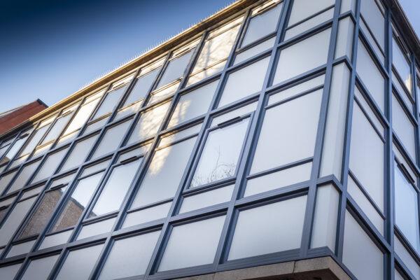 Evesham Walk Curtain Walling>