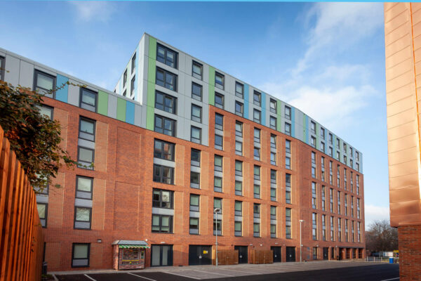 Profile 22 Flush Tilt and Turn Windows deliver glazing solution for new build student accommodation>