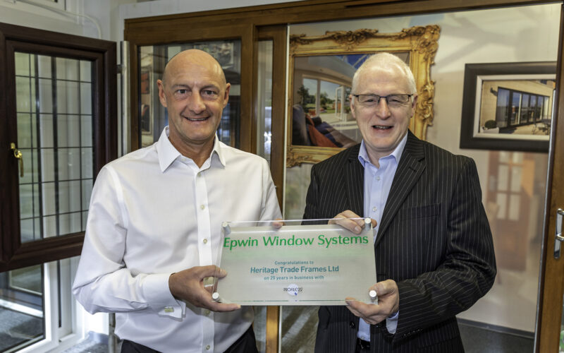 Heritage Trade Frames celebrates 25 years of partnership with Profile 22